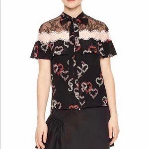 SANDRO Paris blouse 1